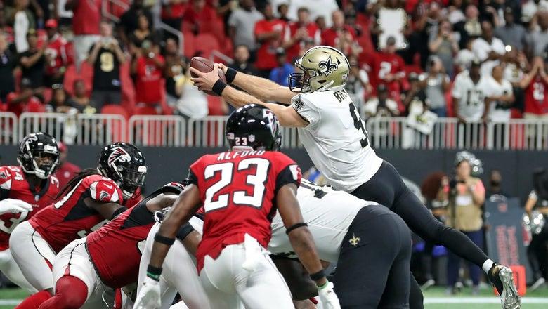 PHOTOS: Saints win overtime shootout in Atlanta over Falcons