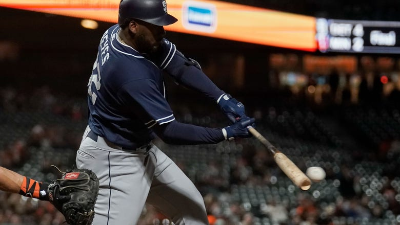 Padres come up short in 12 innings vs. Giants