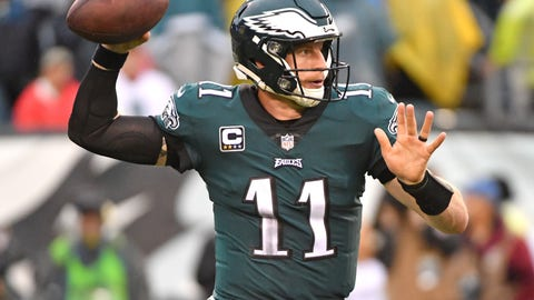 SIT: Carson Wentz, QB, Eagles: