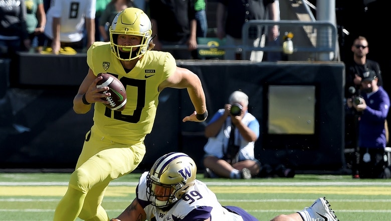 No. 17 Oregon stuns No. 7 Washington in overtime