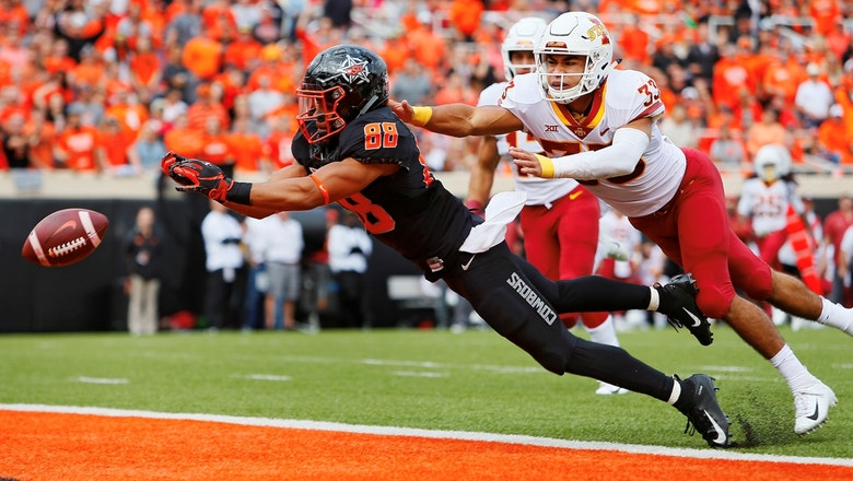 Iowa State holds on to upset No. 25 Oklahoma State