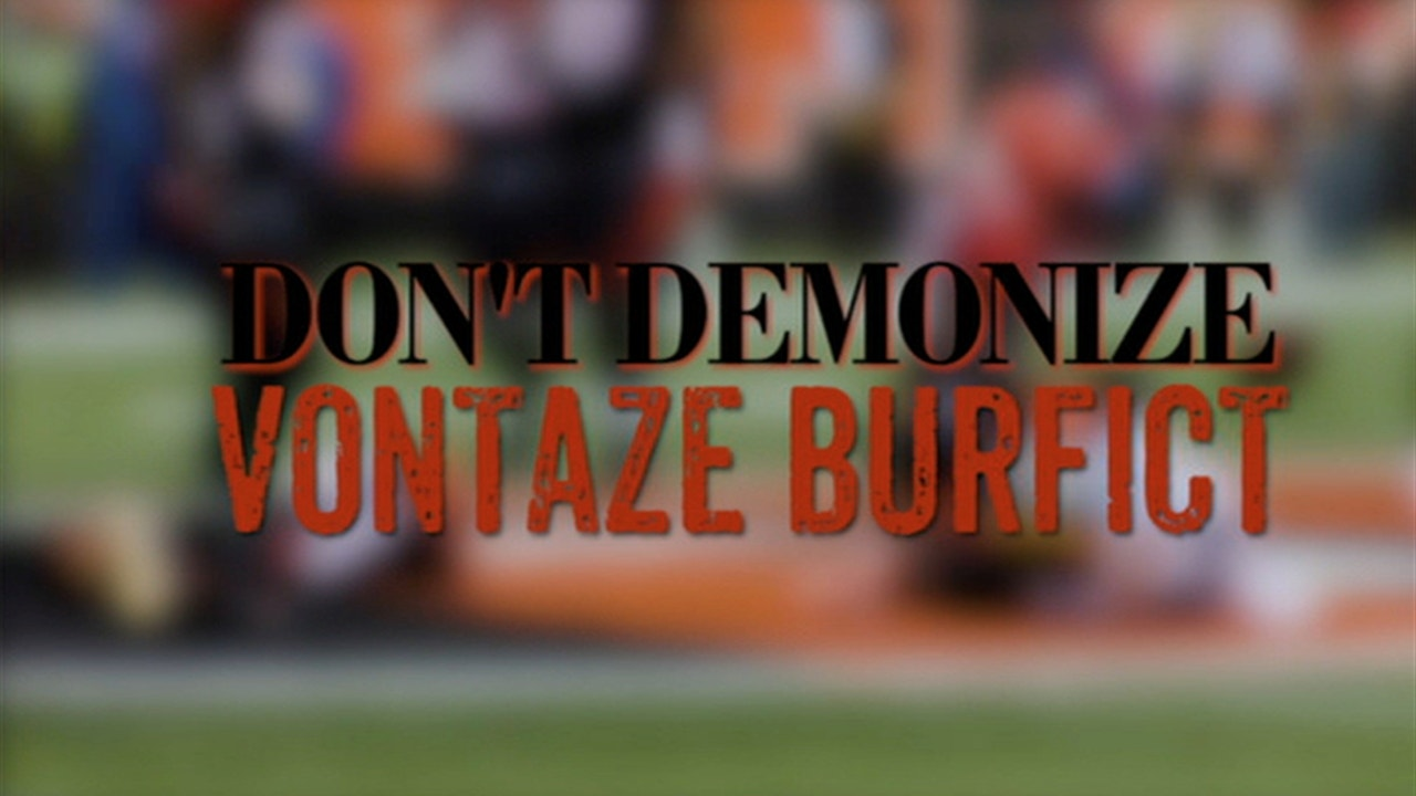 the best attitude 6584a 249e0 Jason Whitlock: Let's stop demonizing Vontaze Burfict over the Antonio  Brown hit