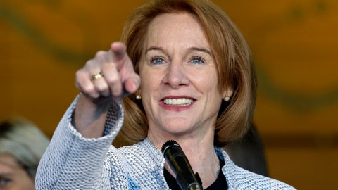 <p>               FILE - In this Dec. 6, 2017, file photo, Seattle Mayor Jenny Durkan acknowledges a reporter while taking questions before signing an agreement to renovate KeyArena in Seattle. Seattle is almost on the goal line in its pursuit of an NHL team thanks to an ownership group featuring Jerry Bruckheimer, a successful deal to renovate downtown KeyArena and fervent interest from fans that led to 10,000 season tickets selling out in 12 minutes and 32,000 total deposits being secured. (AP Photo/Elaine Thompson, File)             </p>