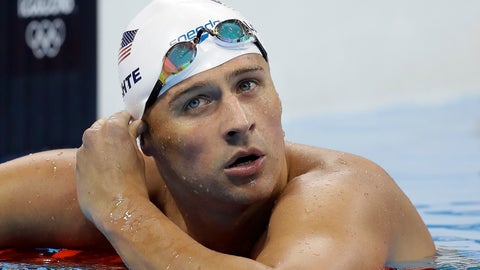 <p>               FILE - In this Aug. 9, 2016, file photo, United States' Ryan Lochte checks his time in a men's 4x200-meter freestyle heat at the 2016 Summer Olympics in Rio de Janeiro, Brazil. Lochte's attorney says the swimmer is seeking help for poor decision making that occurs when alcohol is involved, but the 12-time Olympic medalist is not in a treatment facility and he continues to train for a shot at the 2020 Tokyo Games.  (AP Photo/Michael Sohn, File)             </p>