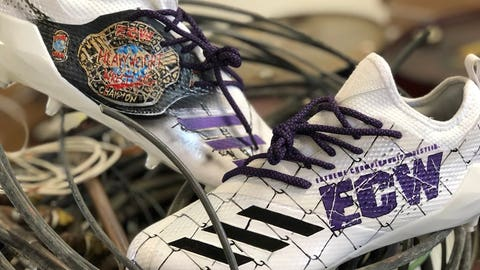 Mache Custom Kicks (via Stefon Diggs, Vikings receiver)