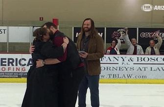 A hockey wedding