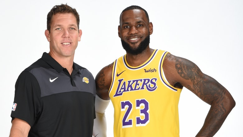 77d646e4599 Dahntay Jones is convinced Luke Walton and LeBron are a good mix for the  Lakers | FOX Sports