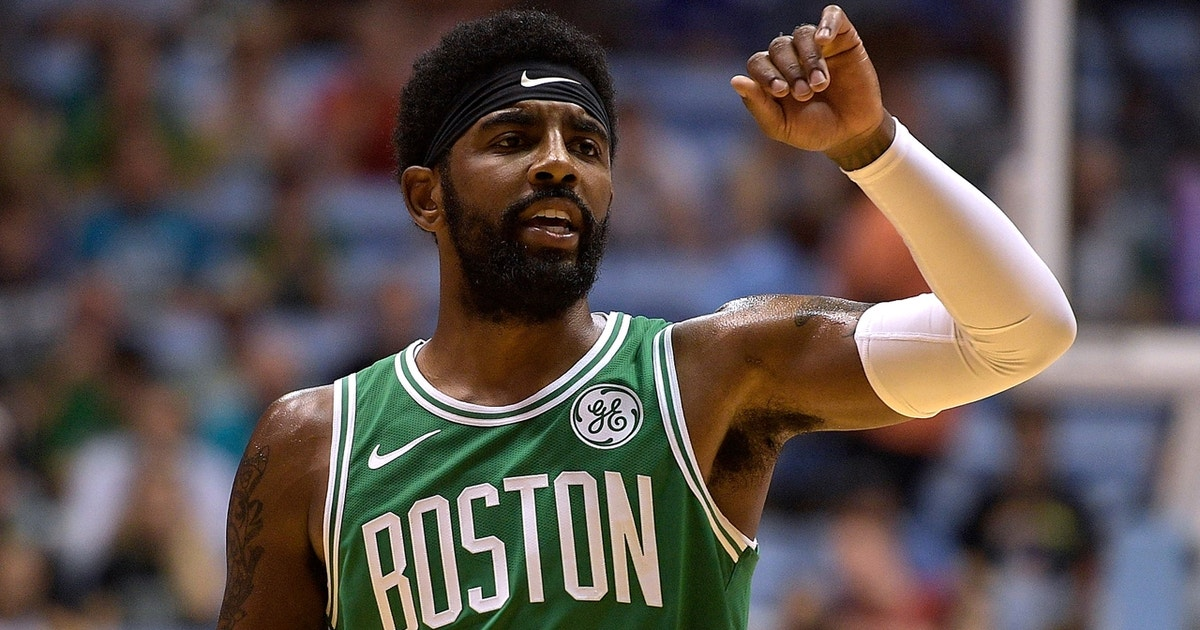 ac0307e68c9 Nick Wright responds to Kyrie Irving confirming his plans to re-sign with  the Celtics