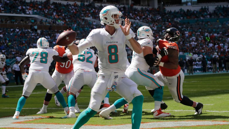 Brock Osweiler steps in to lead Dolphins past Bears in OT thriller