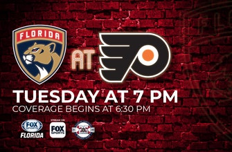 Preview: Panthers still searching for season's 1st victory as road trip begins against Flyers
