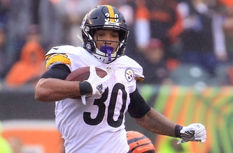 Steelers' James Conner on relationship with Le'Veon Bell and the key to his success this season