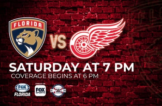 Preview: With 1st victory in the books, Panthers return home to host lowly Red Wings