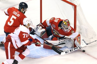 Mike Hoffman scores late to force OT, but Panthers come up short against Red Wings