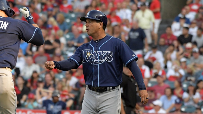 Blue Jays hire Rays bench coach Charlie Montoyo to be manager