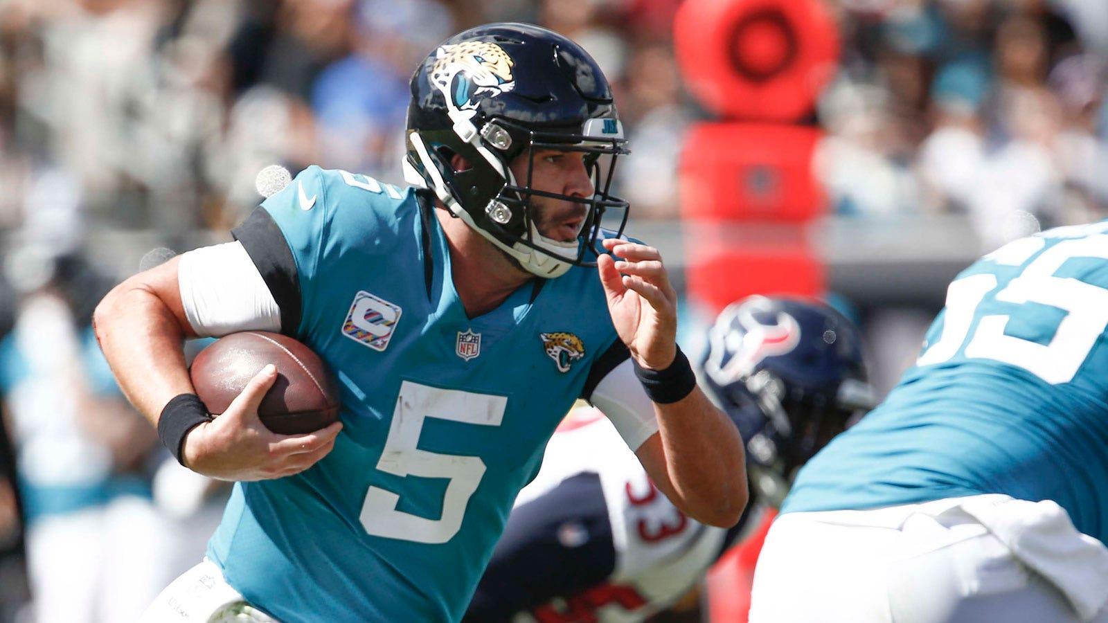 online store 64761 9af9e Jaguars hope newcomer RB Carlos Hyde helps Blake Bortles get ...