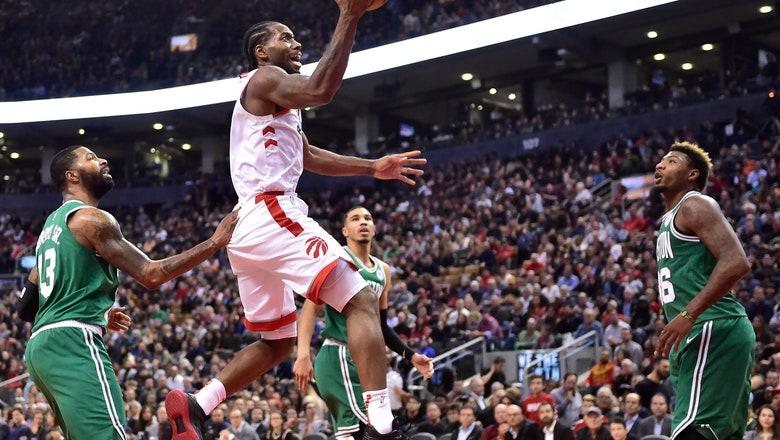 Kawhi Leonard scores 31 points, Raptors beat Celtics 113-101