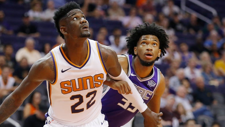 Dominant debut for No. 1 pick Ayton in Suns' exhibition game