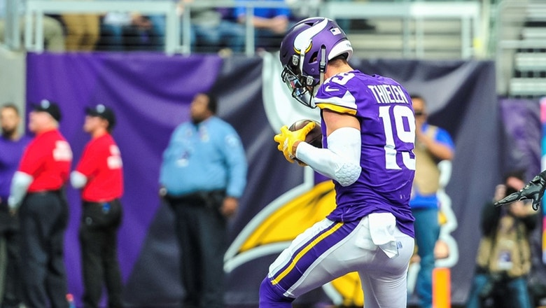 Cris Carter on Adam Thielen's hot start: He's been underrated for a few years