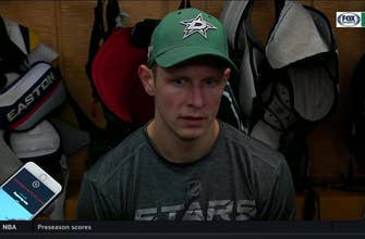Jason Spezza talks 1st Dallas loss of the season to Toronto