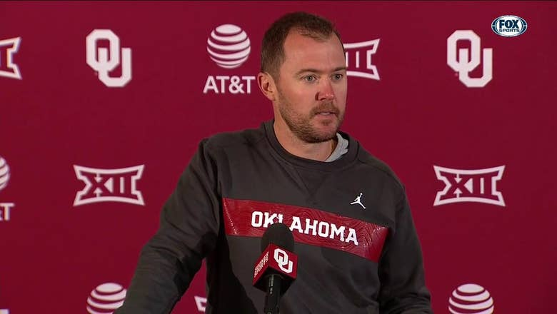 Lincoln Riley talks bye week, looks to facing TCU next | OU Sooners Press Conference
