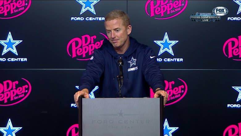 Jason Garrett talks injury updates following win over Jacksonville   Cowboys Press Conference