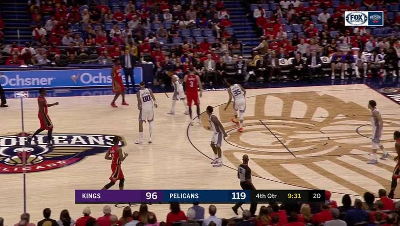 HIGHLIGHTS: Nikola Mirotic with a HEAT CHECK beyond the arc   Sacramento Kings at New Orleans Pelicans