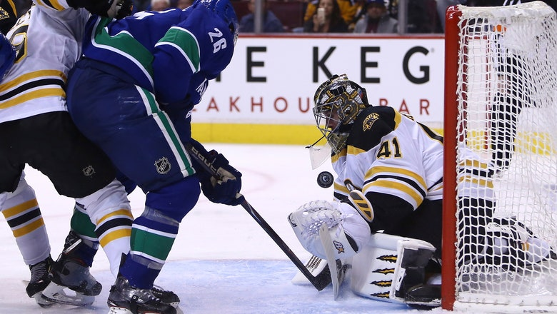 Horvat scores in overtime, Canucks top Bruins 2-1