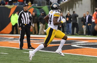 Antonio Brown's late TD sends Steelers over Bengals 28-21