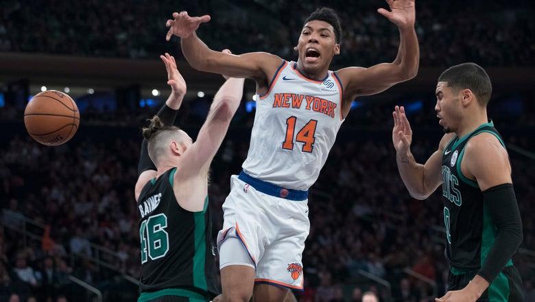 Tatum helps Celtics hold off Knicks