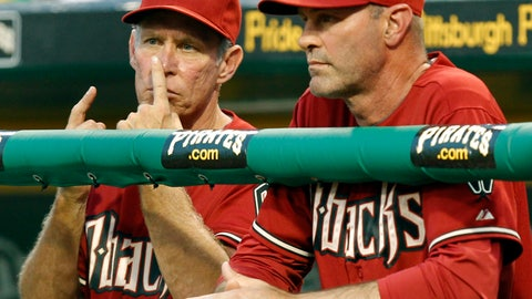 <p>               FILE - In this June 8, 2011 file photo, Arizona Diamondbacks bench coach Alan Trammell, left, gives signals standing next to manager Kirk Gibson during the fifth inning of a baseball game against the Pittsburgh Pirates in Pittsburgh. Stealing signs is as much a part of baseball tradition as stealing bases, but the technology available now could open a whole new frontier of competitive sleuthing. (AP Photo/Gene J. Puskar, File)             </p>