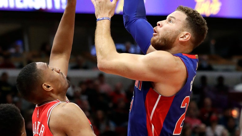 Griffin, Smith lead Pistons over Bulls 118-116