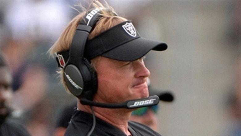 Jon Gruden, Raiders aren't tanking ... they're just a 'bad football team'
