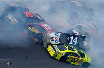 Paul Menard says this wreck at Talladega was the scariest moment of his career