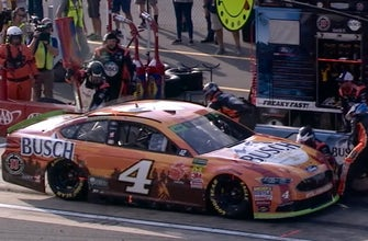 Here's what happened to Kevin Harvick on pit road at Dover that may have cost him a win