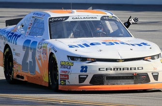Spencer Gallagher talks Talladega and relives his first career victory