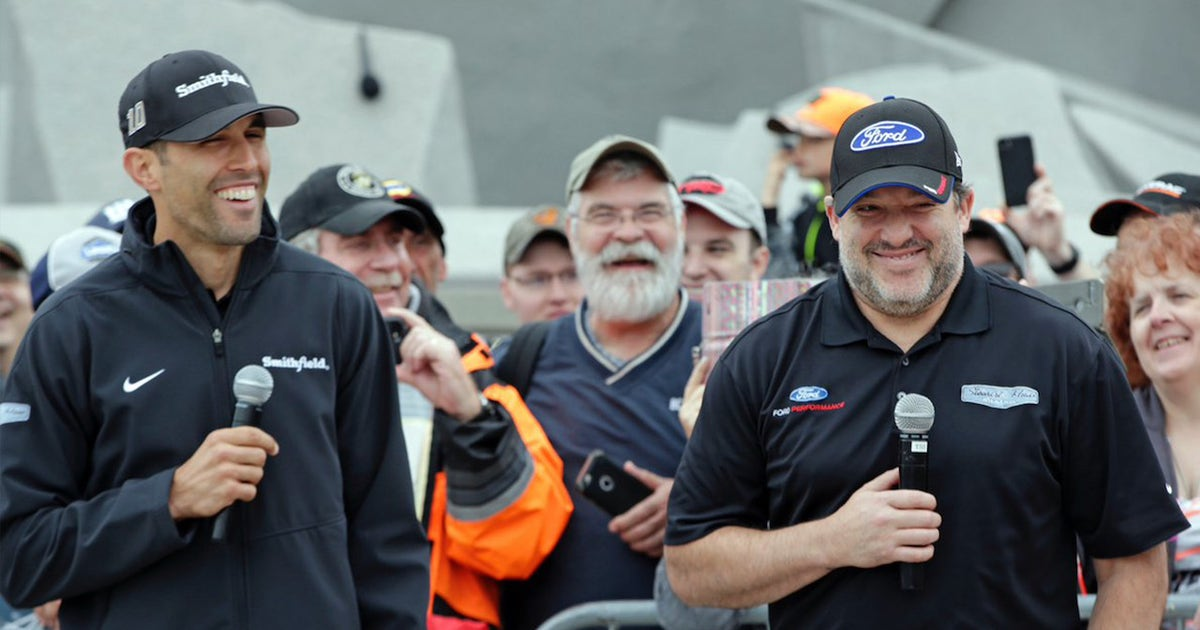 Aric Almirola says his boss Tony Stewart was the best teammate he ever had