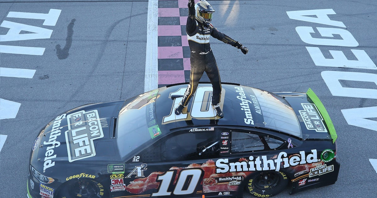 Aric Almirola finds victory just 17 months after life-changing crash
