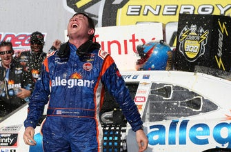 Spencer Gallagher doesn't fly Allegiant for free despite them being his primary sponsor