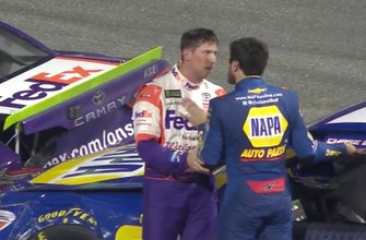 How much confidence did Chase Elliott gain after his confrontation with Denny Hamlin?