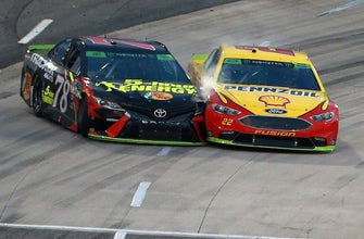 When & what kind of retaliation can we expect from Martin Truex Jr. on Joey Logano?