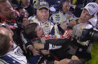Brad Keselowski explains why he doesn't think fighting is good for NASCAR