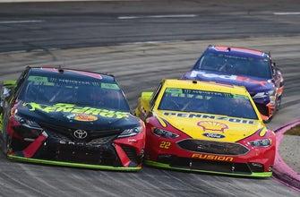 Jeff Gordon & Brad Keselowski react to the controversial finish in Martinsville