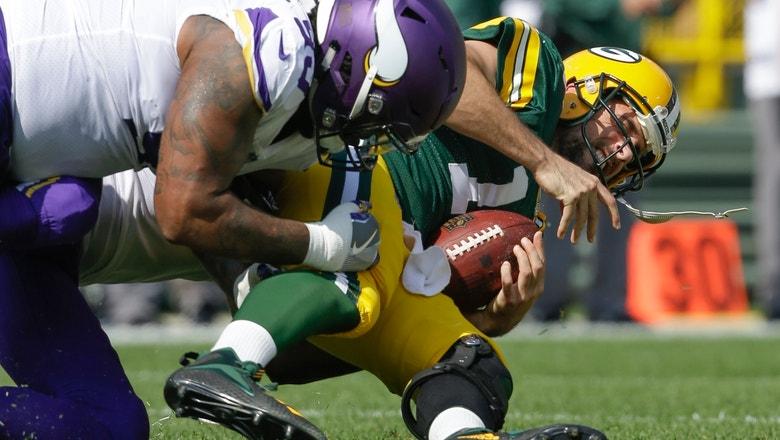 Vikings DT Richardson 'all business' against old team Jets