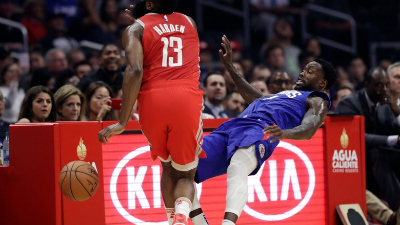 Led by bench, Clippers hang on to beat Rockets 115-112