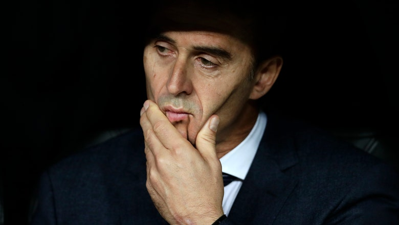 Lopetegui's job, coaching future, on the line in 'clasico'