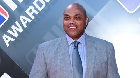 <p>               FILE - In this June 25, 2018, file photo Charles Barkley arrives for the NBA Awards at the Barker Hangar in Santa Monica, Calif. Barkley was honored in Philadelphia when he received the Lew Klein Excellence in the Media Award at Temple University on Friday, Oct. 5, 2018. (Photo by Richard Shotwell/Invision/AP, File)             </p>