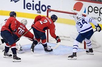 Matthews extends goal streak, Maple Leafs beat Capitals 4-2