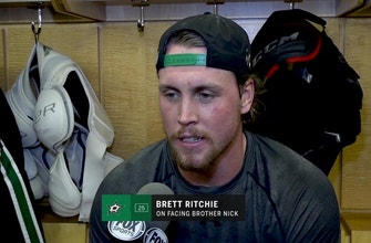 The Stars' Brett Richie talks about facing his brother, Nick Ritchie