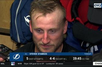 Steven Stamkos: 'Execution was not good tonight'