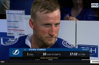 Steven Stamkos on Lightning's win, how team is meshing so far this season